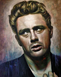 James Dean by Raipun