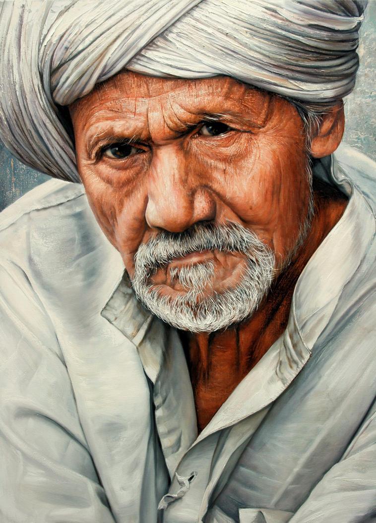 Old man details by Raipun