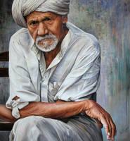 Old man by Raipun