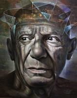 Pablo Picasso by Raipun