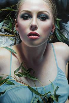 Detail from my latest artwork, 'Aquarius'
