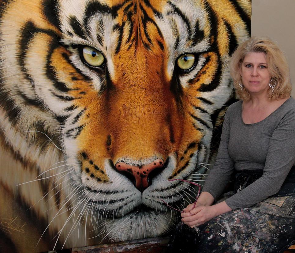 Tiger and me by Raipun