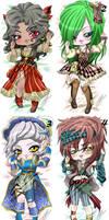 OPEN Lady pirate DakimakurAdopt (points|paypal) by Mokolat-Illustr