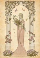 Flowers by Mokolat-Illustr