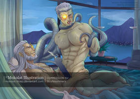 Stryfe and Brother Nathan II - censure version by Mokolat-Illustr