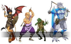 The guild by Mokolat-Illustr