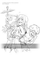 Kakira et Hermes by Mokolat-Illustr