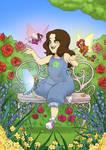 Le jardin des fees de Lulu by Mokolat-Illustr