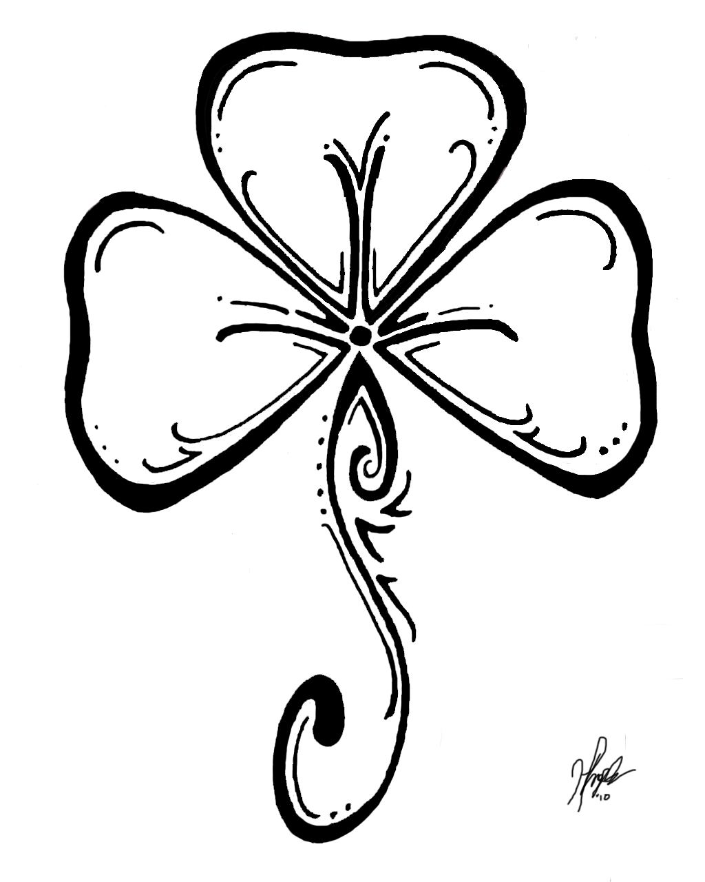 Coloring Page Celtic F C: Free St. Patrick's Day Lapbook