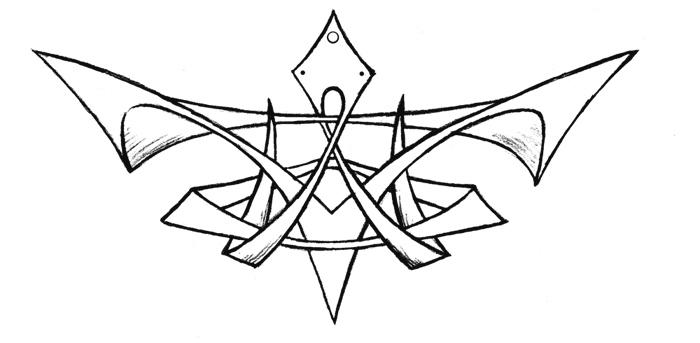 tattoo design for lower back by NoxDracoria on deviantART