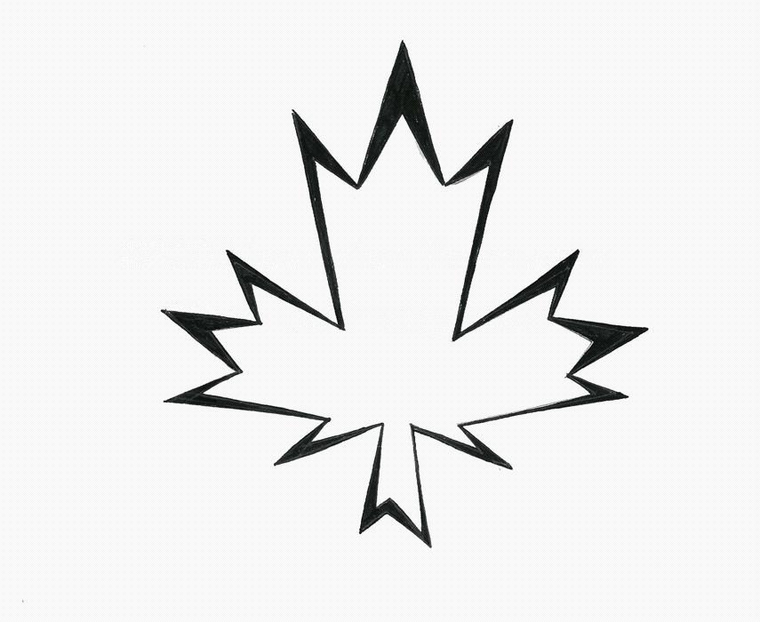 maple leaf tattoo by nox dracoria on deviantart. Black Bedroom Furniture Sets. Home Design Ideas