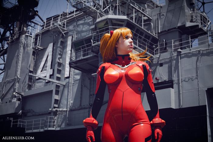 Asuka Langley: Evangelion II by AileenLuib