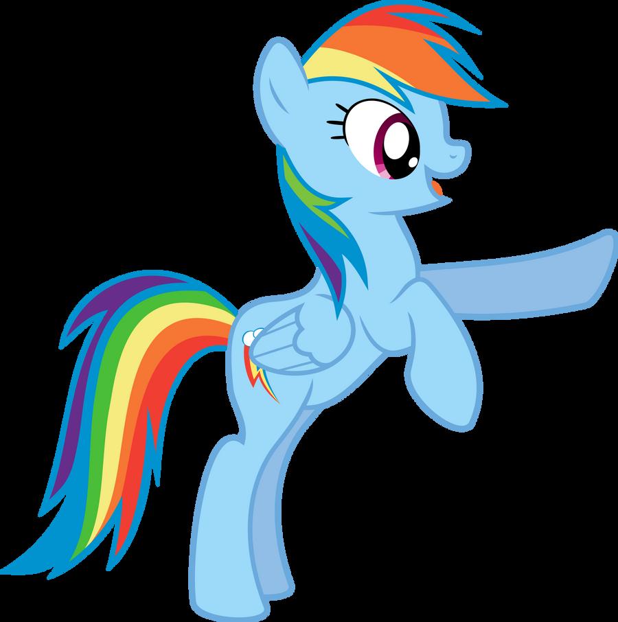 Rainbow Dash Standing