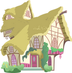 Random Background House