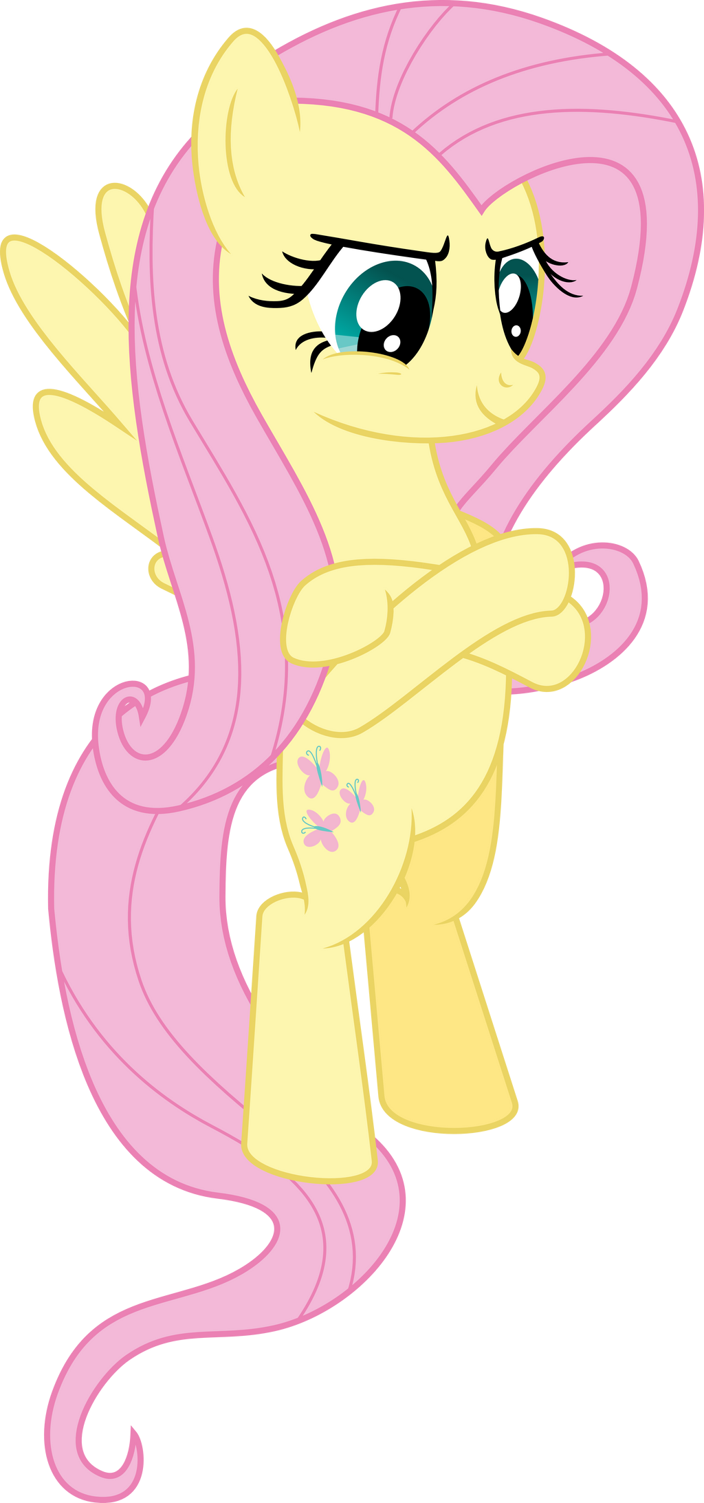 Fluttershy Gets Petty by EMedina13