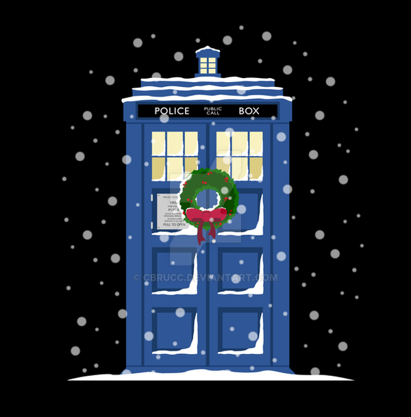 A Tardis Christmas by cbrucc