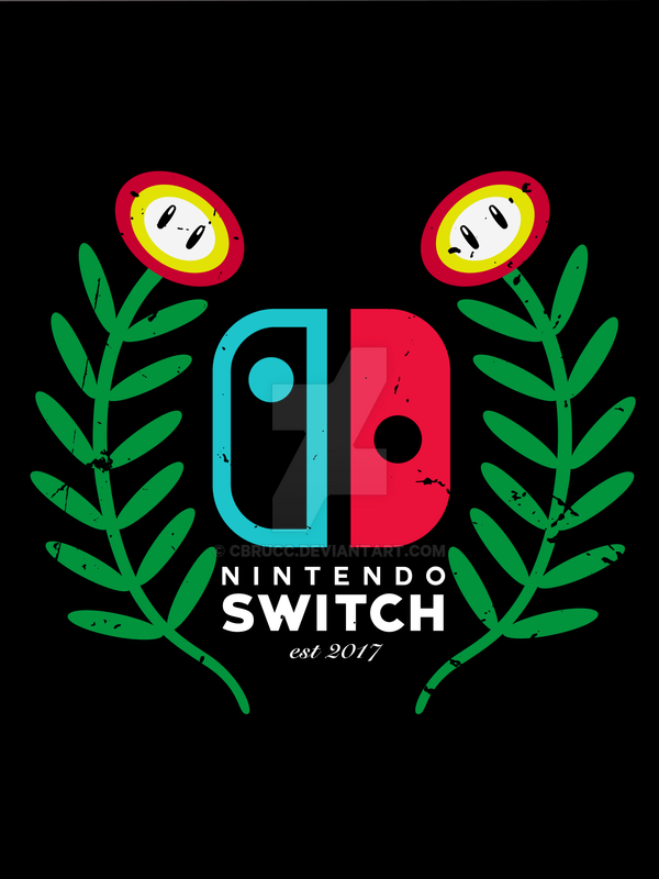 Nintendo Switch Crest by cbrucc