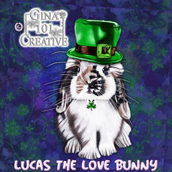 Lucas The Love Bunny - St Patrick's Day