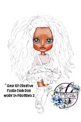 Flora Chibi Work In Progress 2