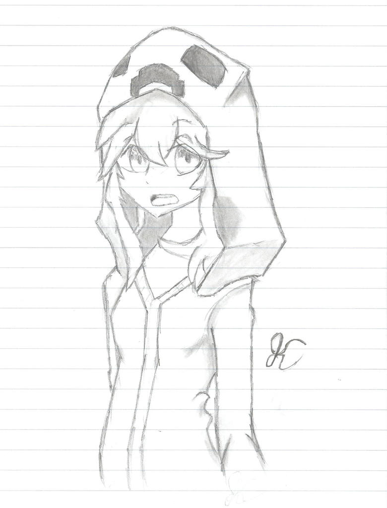 Mob talker Creeper Sketch by AisicanJonJon