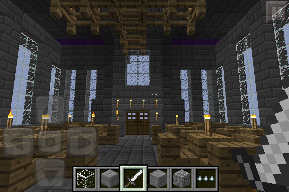 Minecraft mansion dining room by gaming master on deviantart for Dining room minecraft