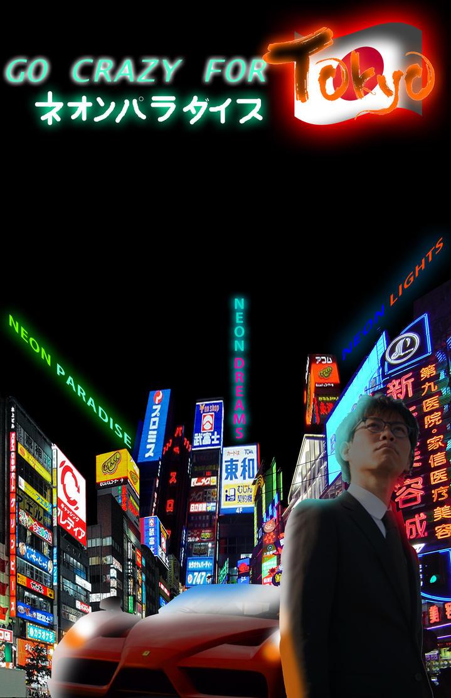 Digital Collage- Tokyo Nights (WIP)[Part 2] by Gaming-Master