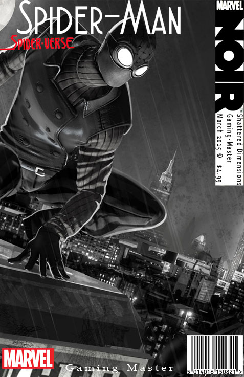 Noir Spider-Man Comic by Gaming-Master