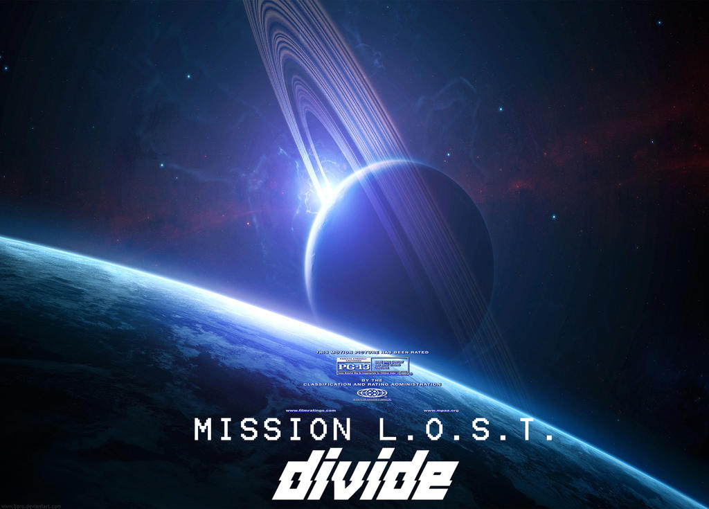 Mission L.O.S.T. DIVIDE Poster by Gaming-Master