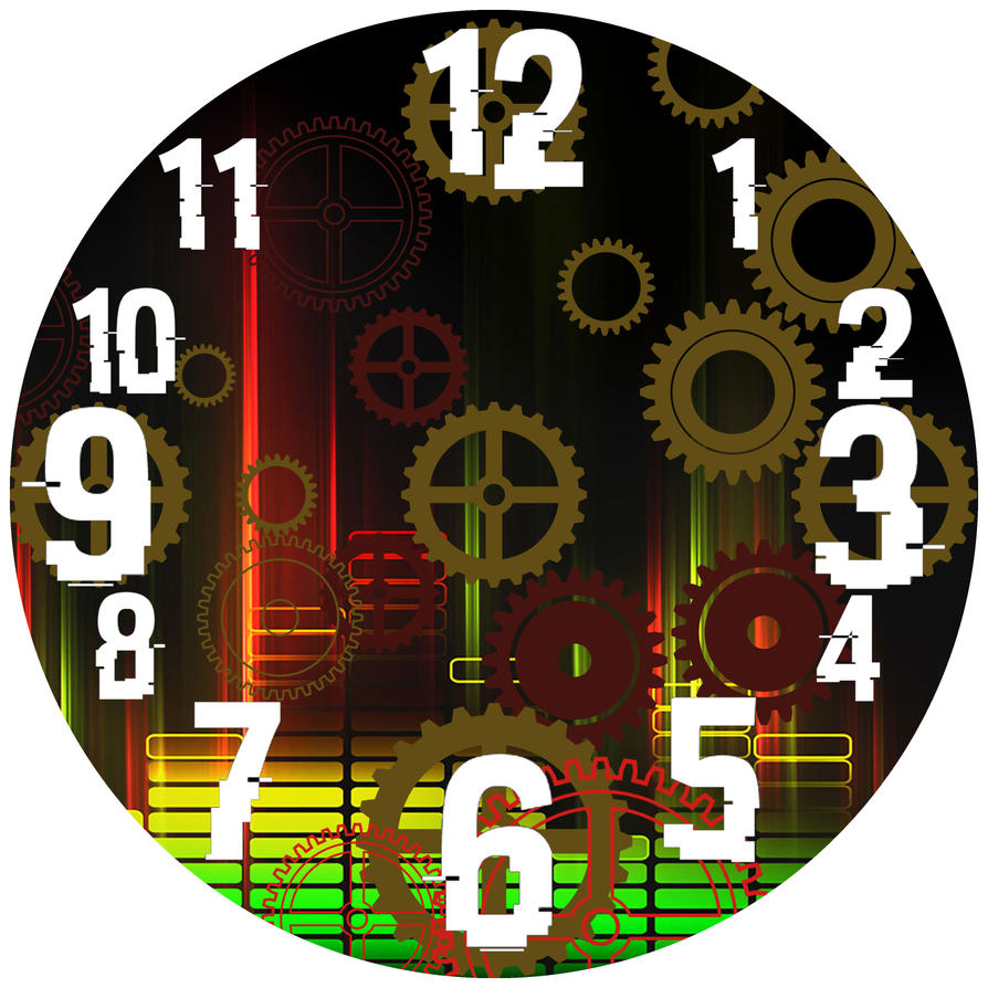Static Gear- Clock Design by Gaming-Master
