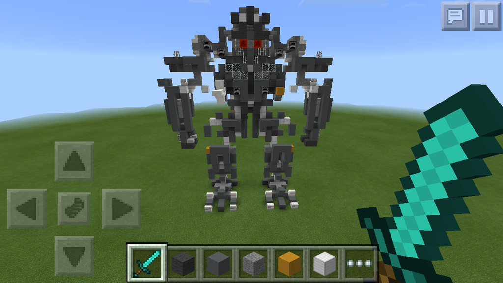 Minecraft PE- Blackout/Grindor (front) by Gaming-Master on ...