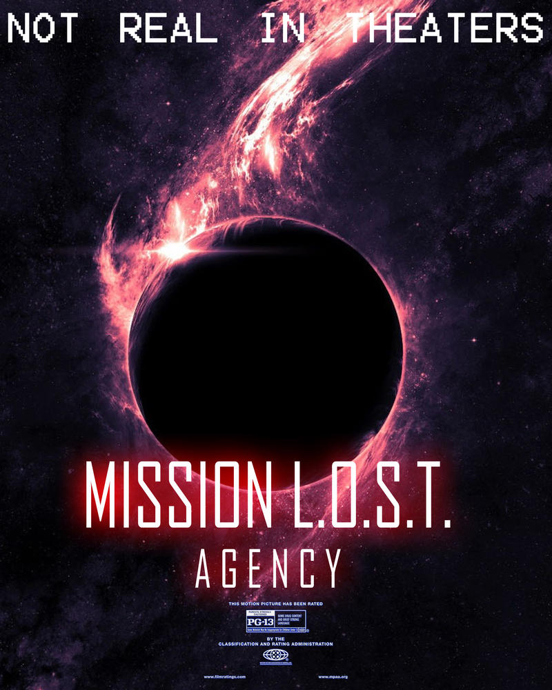Mission L.O.S.T. Agency Poster 4 by Gaming-Master