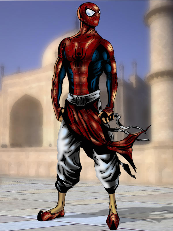 indian superheroes: indian spiderman