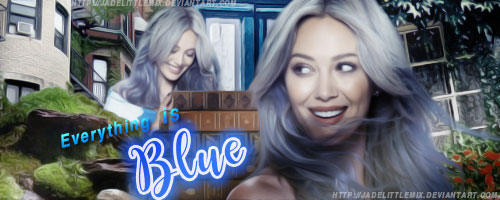 Everything is Blue by jadelittlemix