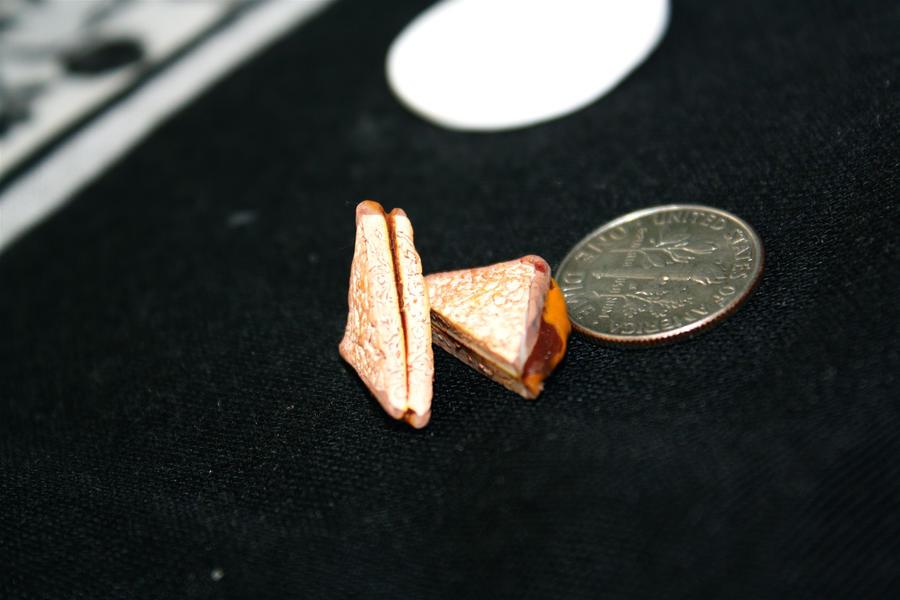 miniature PBJ sandwich by star--crossed