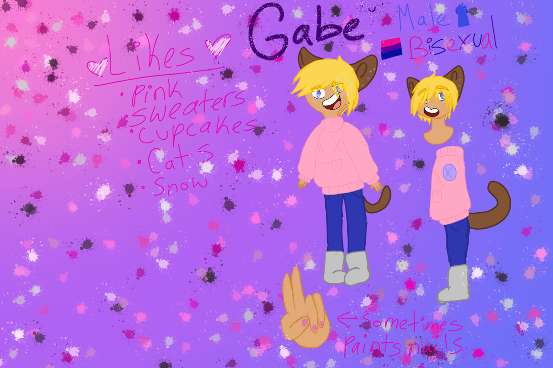 Personas: Gabe's Reference by mangle142