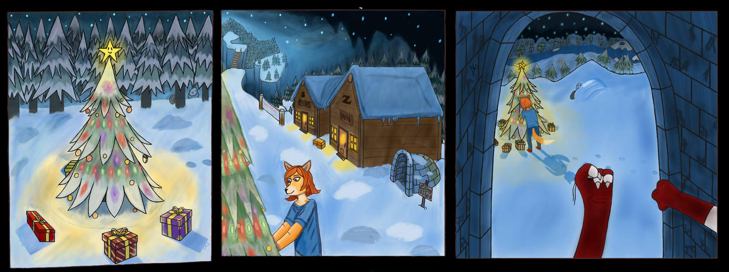 Meet in Snowdin 1/3 by NariPage
