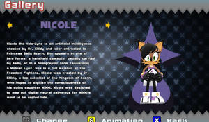 Sonic World R8 Archie Pack - Nicole by GabrielSerna