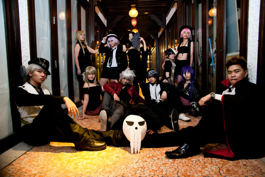 Soul eater halloween by counter identity on deviantart - This is halloween soul eater ...