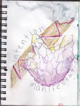intention }{ manifestation