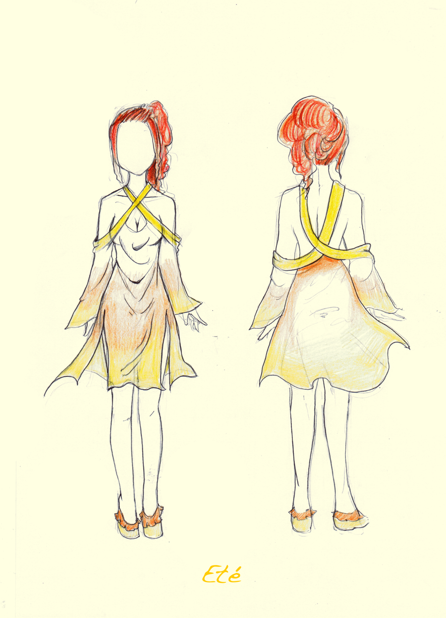 costume design - Ete by stalfoss