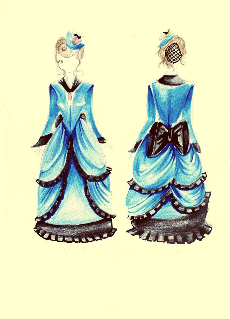 costume design - Tournure by stalfoss