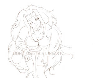 Sillow smiling lineart by stalfoss