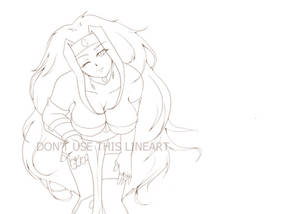 Sillow smiling lineart