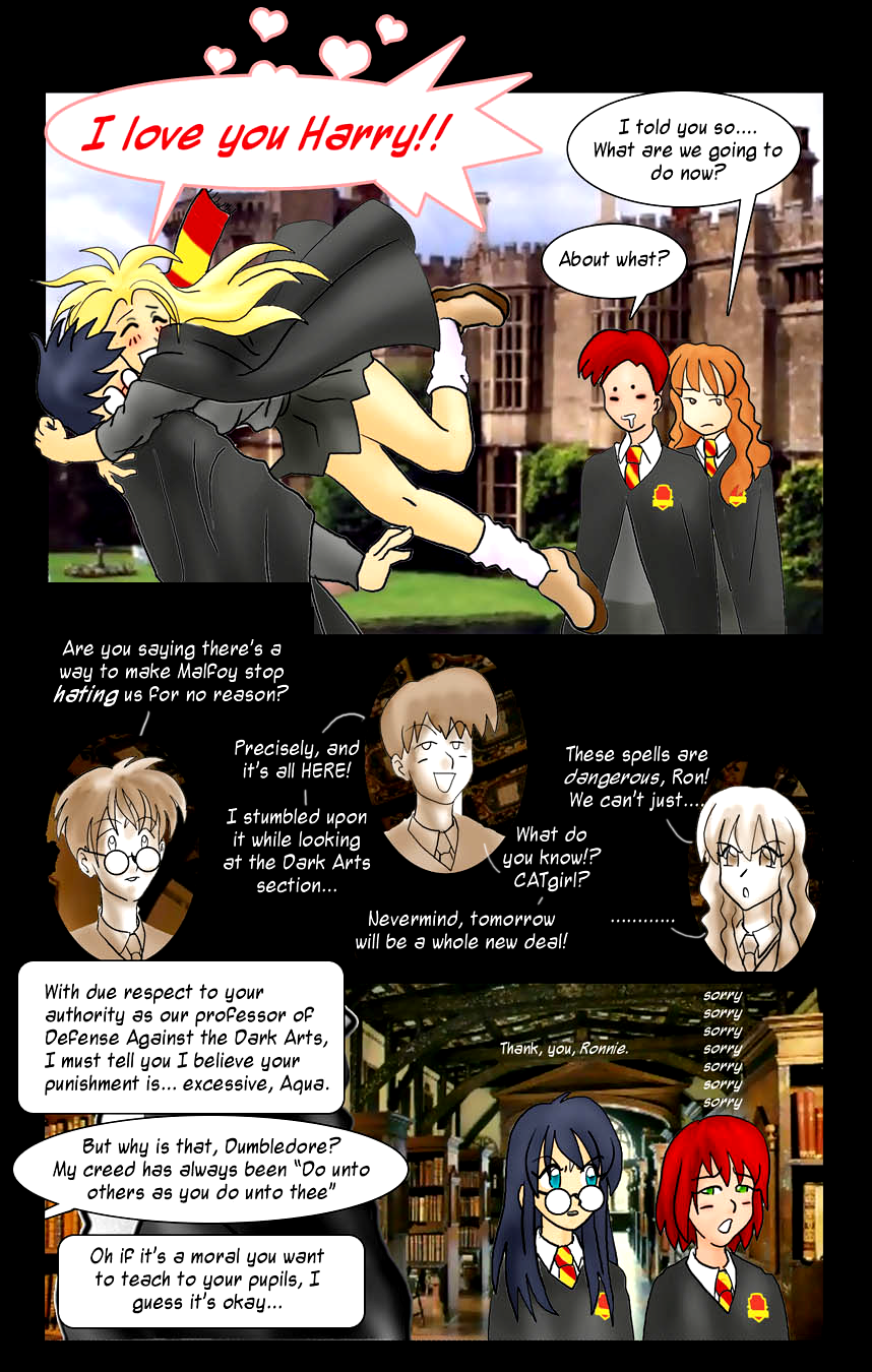 Harry Potter Comic By Aiai