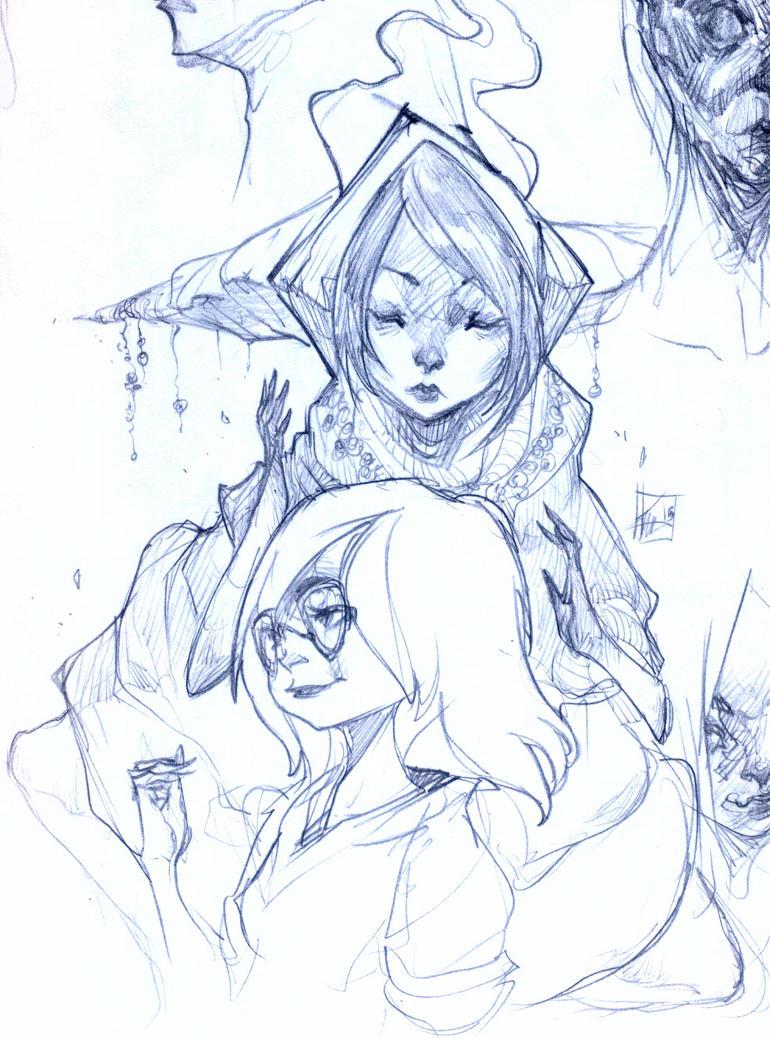 Sketchbook Detail by Chaosmember