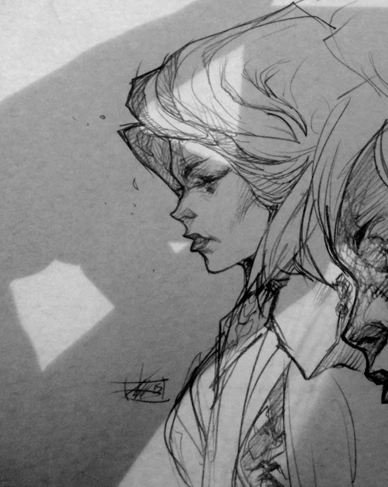 Sketchbook Detail 2 by Chaosmember