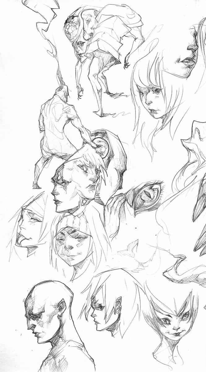 Sketchbook Page 4 by Chaosmember