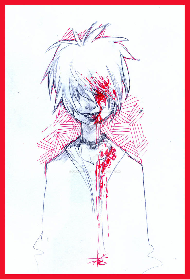 Bleeding Eye by Chaosmember