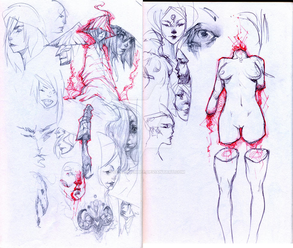 Sketch collection by Chaosmember