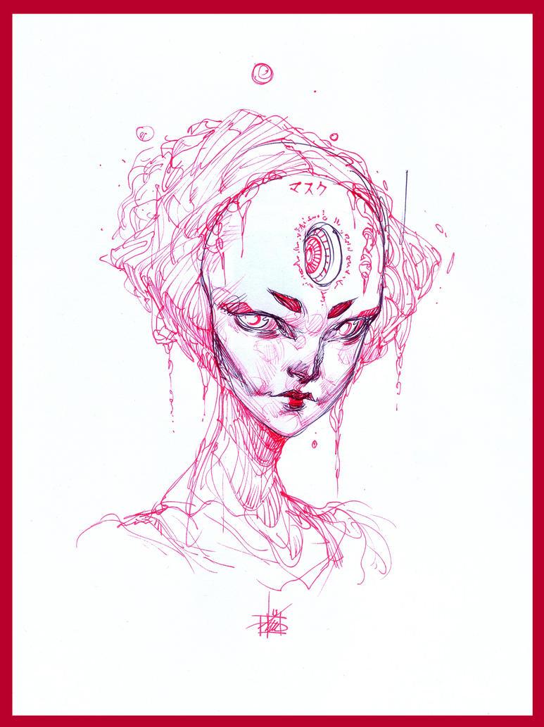 Cyber Geisha by Chaosmember
